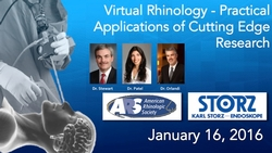 Banner 2016 Virtual Rhinology